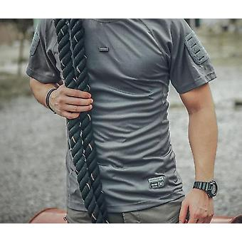 Męskie t-shirty, Trening Quick Dry Stretched Shirt
