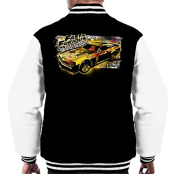 Fast and Furious Old School Men's Varsity Jacket