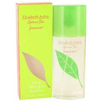 Green Tea Summer Kirjoittanut Elizabeth Arden Eau De Toilette Spray 3.4 Oz (naiset) V728-492908