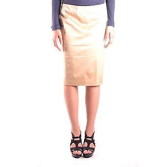 Iceberg Ezbc188011 Women's Beige Nylon Skirt
