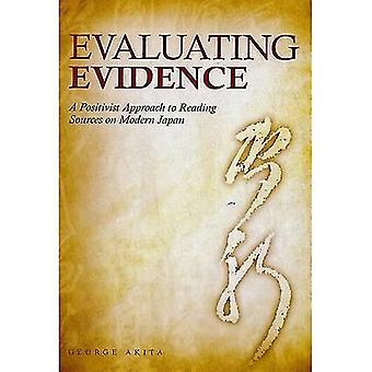Evaluación de la evidencia: un enfoque positivista de las fuentes de lectura en el Japón moderno