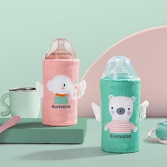 Sunveno Tragbare Milchflasche wärmer für Babys