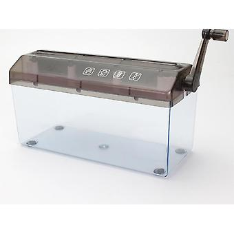 Mini Shredder Small Desktop Hand-cranked A4 Paper Shredder