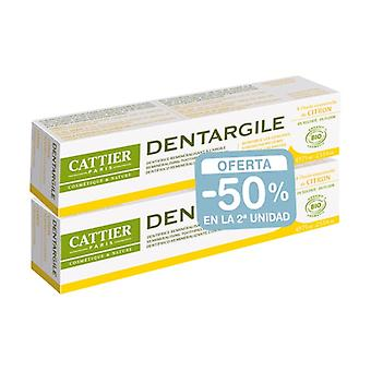 Dentargile Lemon Toothpaste Pack (irritated gums) None
