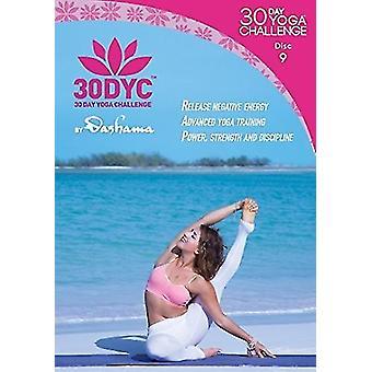 30Dyc: 30 Day Yoga Challenge with Dashama Disc 9 [DVD] USA import