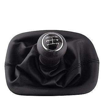 Car Gear Shift Knob With Gaitor Leather Boot Cover Gaitor Gaiter Boot Cover