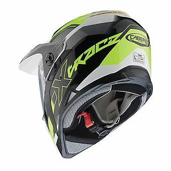 Caberg X-Trace Spark Black/Anthracite/Yellow Flo Helmet