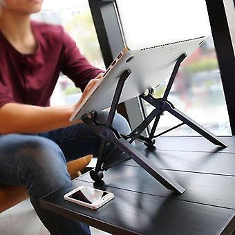 Składane i regulowane przenośne stojaki na laptopy