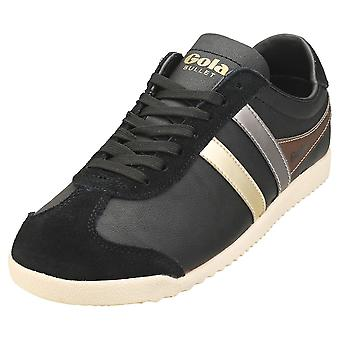 Gola Bullet Trident Womens Casual Trainers in Black