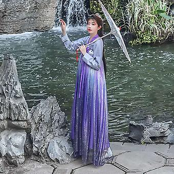 Ancient Style Traditional Folk Dance Dress