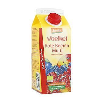 Organic Red Fruit Juice 750 ml
