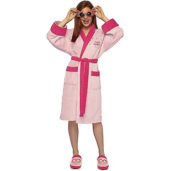 Harry Potter Luna Lovegood Ladies Dressing Gown Robe Pink