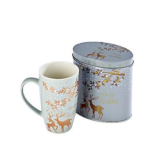 Arthur Price Reindeer Collection Mug and Tin, Blitzen