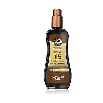 Sunscreen Spf15 Spray Gel With Instant Bronzer 237 ml of gel