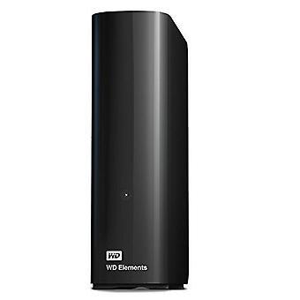 Wd 10 tb elementer desktop ekstern harddisk - usb 3,0