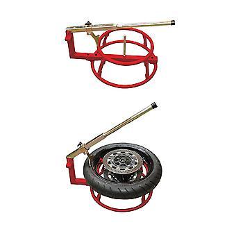 Strumento attrezzatura garage cambio pneumatici moto BikeTek