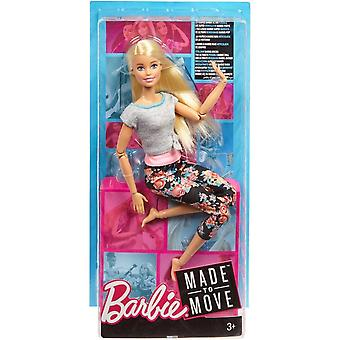Barbie Made To Move Doll (Blonde)