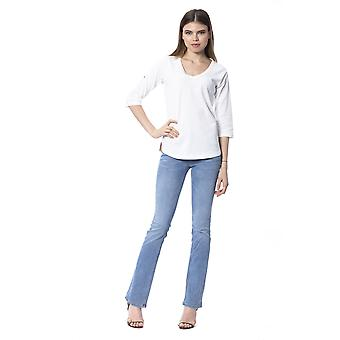 Silvian Heach Milk 3/4 length Sleeves Top