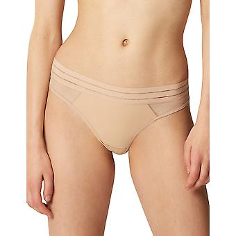 Maison Lejaby 171261-389 mujeres Nufit Power Skin beige Sheer Knicker panty tanga