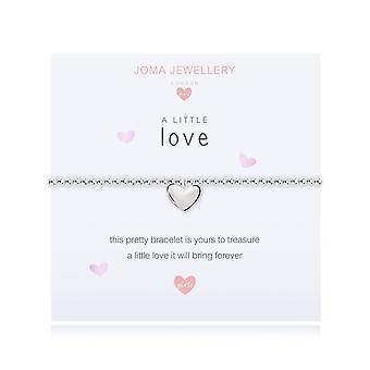 Joma Jewellery A Little Love Silver 10.5cm Stretch Bracelet C445