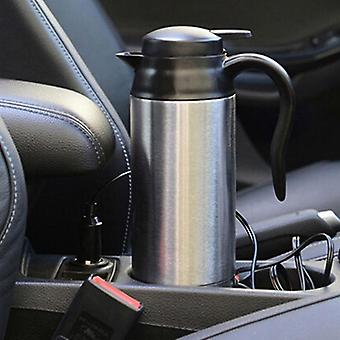 Stainless Steel- Electric Kettle, In-car Travel, Coffee, Tea Heated Mug, Motor