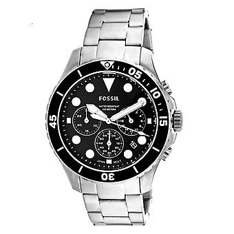 Fossil Men's Classic Black Dial Watch - FS5725