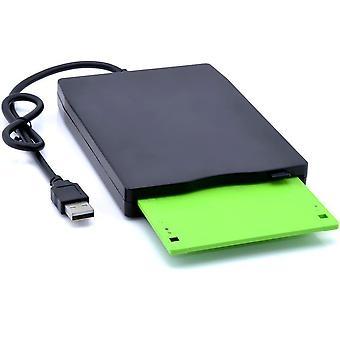 Portabil Extern Fdd Floppy Disk Drive Plug And Play (negru)