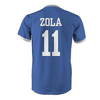 Gianfranco Zola 11 Italy Country Ringer T-Shirt