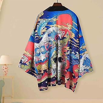 Traditional Japanese Kimonos Cardigan Couple