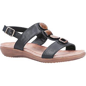 Fleet & Foster rosa womens ladies comfort sandals black UK Size