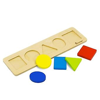 "Alatoys Wooden  Puzzle ""shapes"""