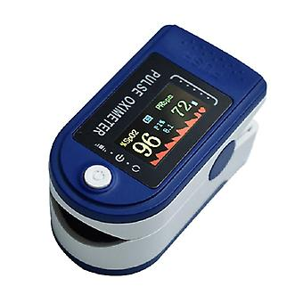 Digital Finger Oximeter Led Pulse Display Oximeter Health Diagnostic Monitor