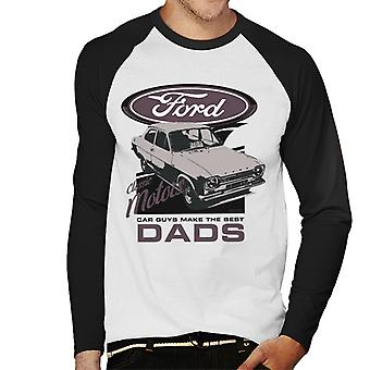 Ford Car Guys Make The Best Dads Men's Baseball T-Shirt met lange mouwen