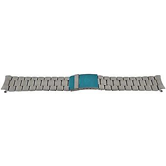 Authentic certina watch bracelet 20mm stainless steel (c605007664)