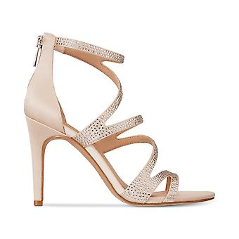 INC International Concepts Womens Regann2 Fabric Open Toe Special Occasion Strappy Sandals