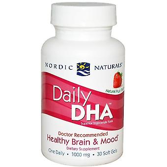 Nordic Naturals Daily DHA Strawberry 1000 mg 30 Softgels