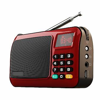 W405 Portable Mini Fm Radio Speaker Music Player Tf Card Usb Pc Ipod Phone With