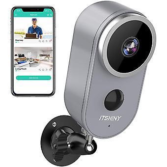 IP Kamera Outdoor, ITWokex berwachungskamera Aussen WLAN, HD 1080P berwachungskamera Aussen Kabellos
