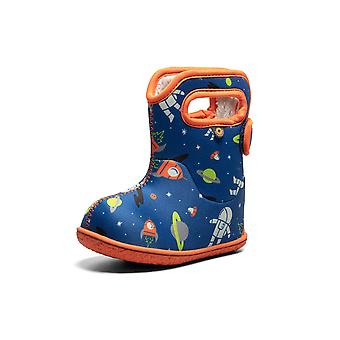 Baby bogs spaceman blue multi thermal waterproof boots