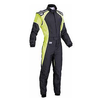 Racing jumpsuit OMP KS-3 Geel/Zwart (Maat 46)