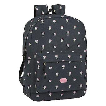 Laptop Backpack Hello Kitty Happiness 15,6'' Grey