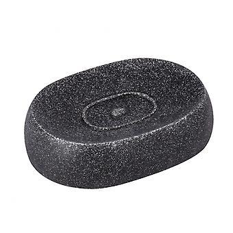 puro zeephouder 12,5 x 3,1 x 8,9 cm polyresin antraciet