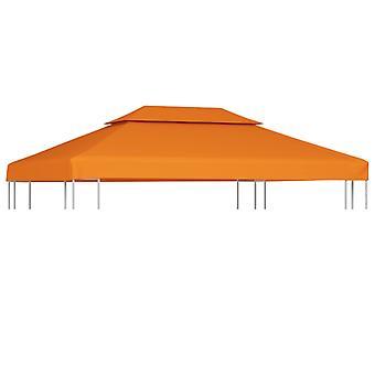vidaXL Pavilion roof tarpaulin Spare roof 310 g/m2 Terracotta red 3×4 m