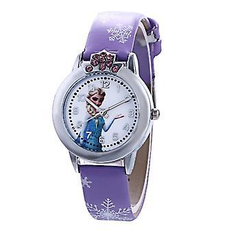 Cartoon Cute Skórzany zegarek kwarcowy, Dziecięcy, Bransoletka na co dzień, Zegarki na rękę, Zegar