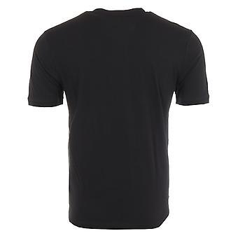 HUGO Diragolino Patch Logo Sustainable T-Shirt - Black