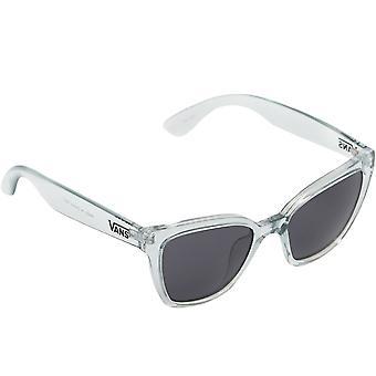 Vans Womens Hip Cat Eye överdimensionerade klassiska sommarsolglasögon - Klart