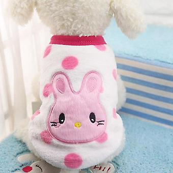 Dog cat clothes puppy sweater warm cute vest autumn and winter