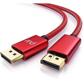 FengChun CSL - 8k DisplayPort Kabel 2m - Displayport auf Displayport - DP 1.4-7680 x 4320 60Hz -