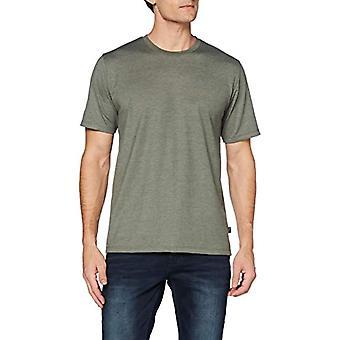 Trigema 637202 T-Shirt, Melange di Cachi, XXL Män