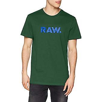 G-STAR RAW Graphic 78 Short Sleeve T-shirt, Black (Gurin Green 6091), Medium Men's